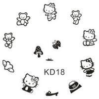 Hello Kitty Plate KD18