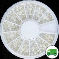 2mm Ivory Pearl Wheel