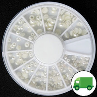 3 Size Pearl Wheel (Ivory)