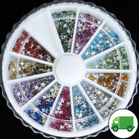 Star Rhinestone Wheel