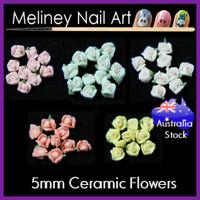5mm ceramic flowers