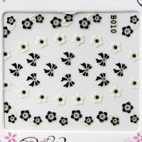 RS Flower Bow Sticker 21