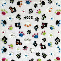 RS Music Note Sticker
