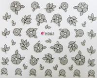 Lace Flower Sticker H003