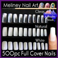 500pc full cover nails