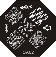 Fish Image Plate QA62