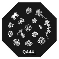 Flower Image Plate QA44
