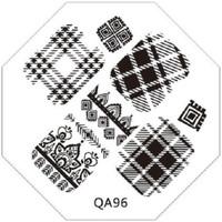 Plaid image plate QA96