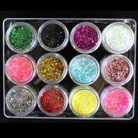 1mm Round Glitters