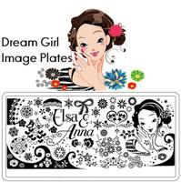 Dream Girl Plates (Full Set)