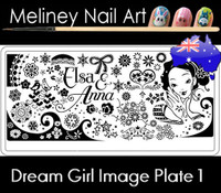 Dream Girl 01 Image plate