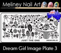 Dream Girl 03 Image plate