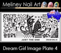 Dream Girl 04 Image plate
