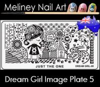 Dream Girl 05 Image plate