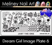 Dream Girl 06 Image plate