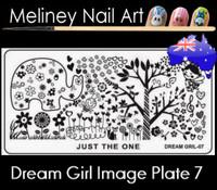 Dream Girl 07 Image plate