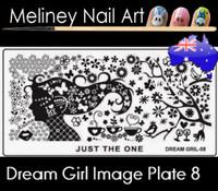 Dream Girl 08 Image plate