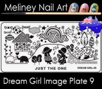 Dream Girl 09 Image plate