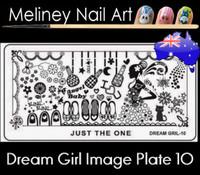 Dream Girl 10 Image plate