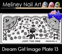 Dream Girl 13 Image plate
