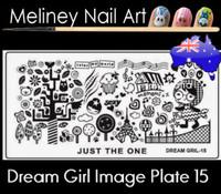 Dream Girl 15 Image plate