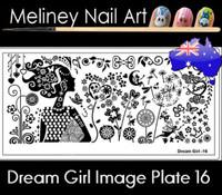 Dream Girl 16 Image plate
