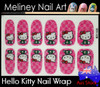 hello kitty nail wrap