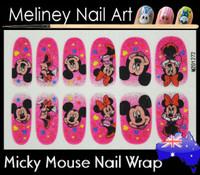 Micky mouse nail arap