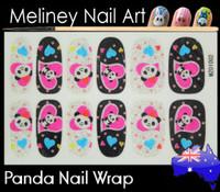 panda nail wrap