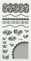 Lace Sheet (FL046 Black)