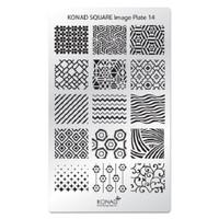 Konad Square Image Plate 14