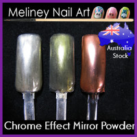 chrome effect mirror powder