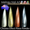 chrome effect mirror powder