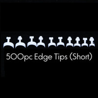 french edge tips short