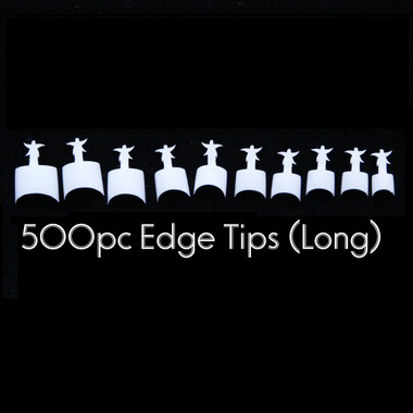 french edge tips long