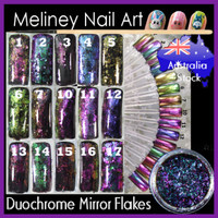 Duochrome Mirror Nail Flakes