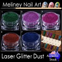 laser glitter dust