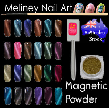 Meliney nail art supplies online store quality salon supply magnetic nail powder prinsesfo Image collections