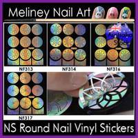 NF Round Nail Vinyls