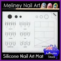 silicone nail art mat