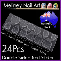 double sided nail stickers