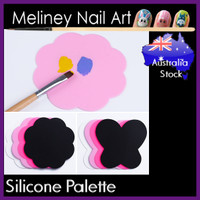 Silicone Paint Palette mixing plate
