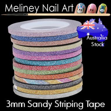 3mm Sandy Glitter Striping tape