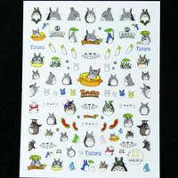 Totoro Nail Sticker
