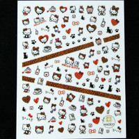 Hello kitty Nail sticker