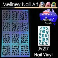 JV217 nail vinyl