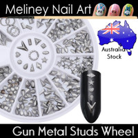 Gun Metal Studs Wheel
