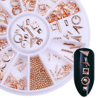 Rose Gold Studs Wheel