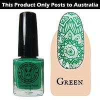 Meliney Nail Art Stamping Polish 9ml Green