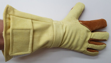 Our Kevlar® and Nomex® glove will keep you safe and comfortable!